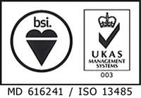 bsi. MD 616241 / ISO13485